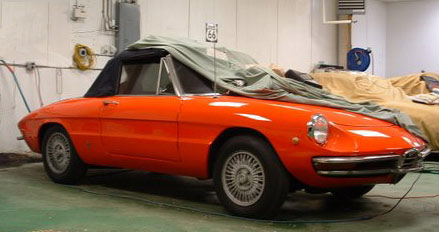 1967 Alfa Romeo Duetto Spider Eastgate Motors Red Hook Ny